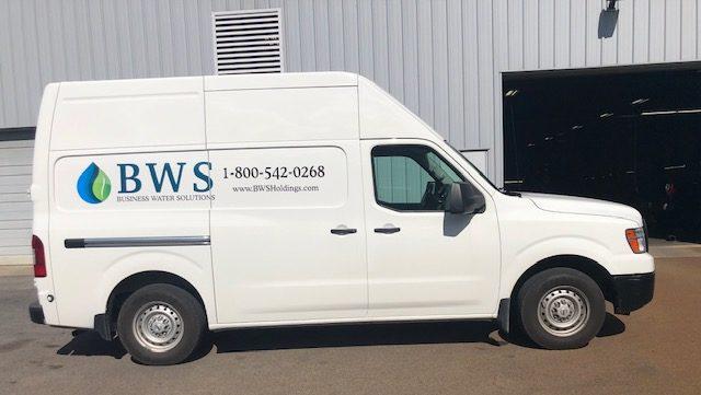 BWS service truck